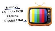 Rinnovo abbonamento canone speciale RAI per PUBBLICI ESERCIZI 2019