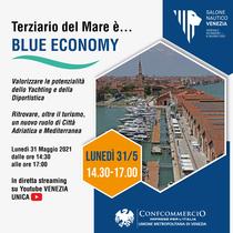 """Convegno """"Terziario del mare è...blue economy"""" - 31.05.2021, 14:30-17:00"""