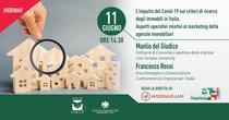 """Webinar FIMAA """"L'impatto del Covid-19 sui criteri di ricerca degli immobili in Italia"""" - venerdì 11.06.2021, dalle ore 14.30 alle ore 16.30 circa"""