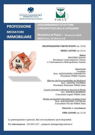 Convegno FIMAA il 24.5.2019 a Noventa di Piave
