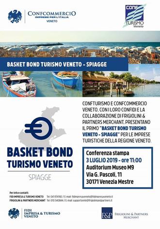 """Save the Date - Conferenza stampa """"Basket Bond Turismo Veneto - Spiagge"""" il 3 luglio alle ore 11:00 presso il Museo M9"""
