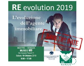 BeFIMAA: RE-Evolution 2019: il mondo dell'intermediazione immobiliare, il 19 ottobre a Mestre per cogliere le sfide di un futuro sempre più multidimensionale.