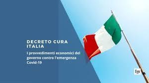 """Il decreto """"Cura Italia"""""""
