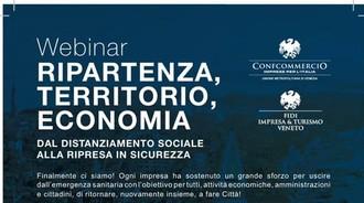 """Webinar """"Ripartenza, Territorio, Economia: dal distanziamento sociale alla ripresa in sicurezza"""" - il resoconto sul Gazzettino"""