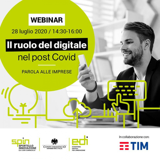 Sondaggio EDI Confcommercio: l'impatto del Covid-19 sui processi di trasformazione digitale delle imprese del terziario